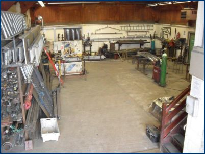 Dunninghams Workshop Interior
